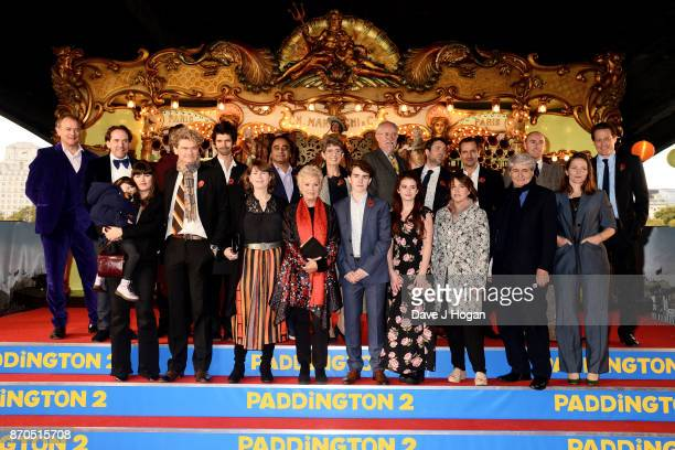 Hugh Bonneville Ben Miller Kobna HoldbrookSmith Ben Whishaw Sanjeev Bhaskar Karen Jankel daughter of Paddington creator Michael Bond Jim Broadbent...