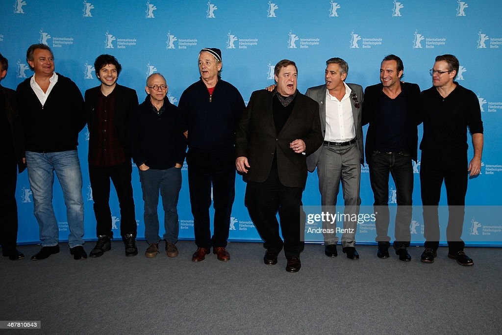 'The Monuments Men' Photocall - 64th Berlinale International Film Festival : News Photo