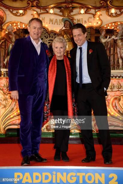 Hugh Bonneville Julie Walters and Hugh Grant attend the 'Paddington 2' premiere at BFI Southbank on November 5 2017 in London England