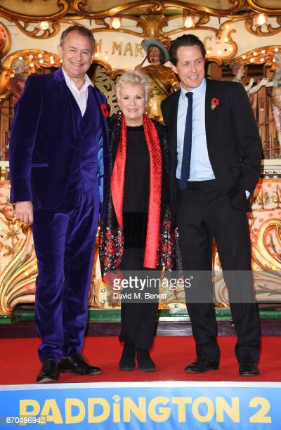 Hugh Bonneville Julie Walters and Hugh Grant attend the World Premiere of Paddington 2 at the BFI Southbank on November 5 2017 in London England