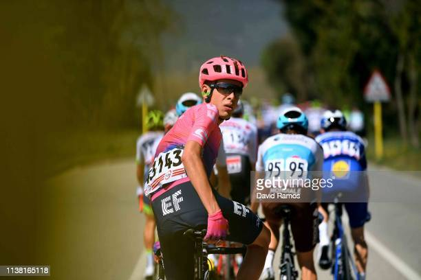 Hugh Carthy of United Kingdom and Team EF Education First / during the Volta Ciclista a Catalunya 2019, Stage 1 a 164km stage from Calella to Calella...