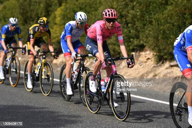 Hugh Carthy of United Kingdom and Team EF Education - Nippo during the 100th Volta Ciclista a Catalunya 2021, Stage 6 a 193,8km stage from Tarragona...
