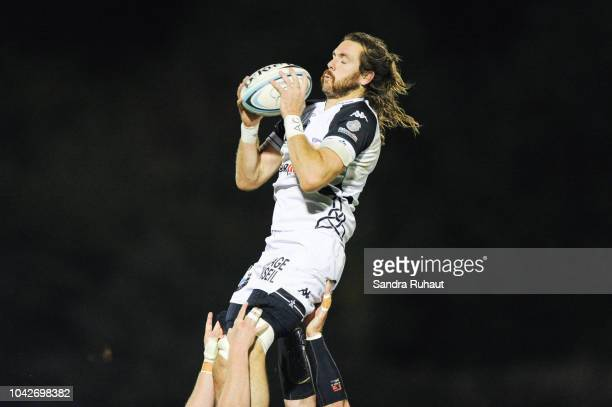 Hugh Chalmers of Vannes during the Pro D2 match between Massy and Vannes on September 28 2018 in Massy France