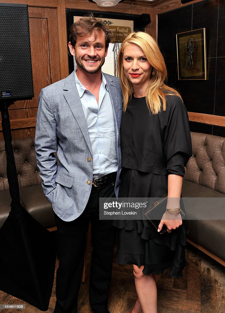 Hugh Dancy and Claire Danes attend a Private Reception And Screening Of Homeland Season 4 on September 4, 2014 in New York City.