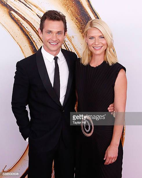Hugh Dancy and Claire Danes attend the 2016 CFDA Fashion Awards at the Hammerstein Ballroom on June 6, 2016 in New York City.