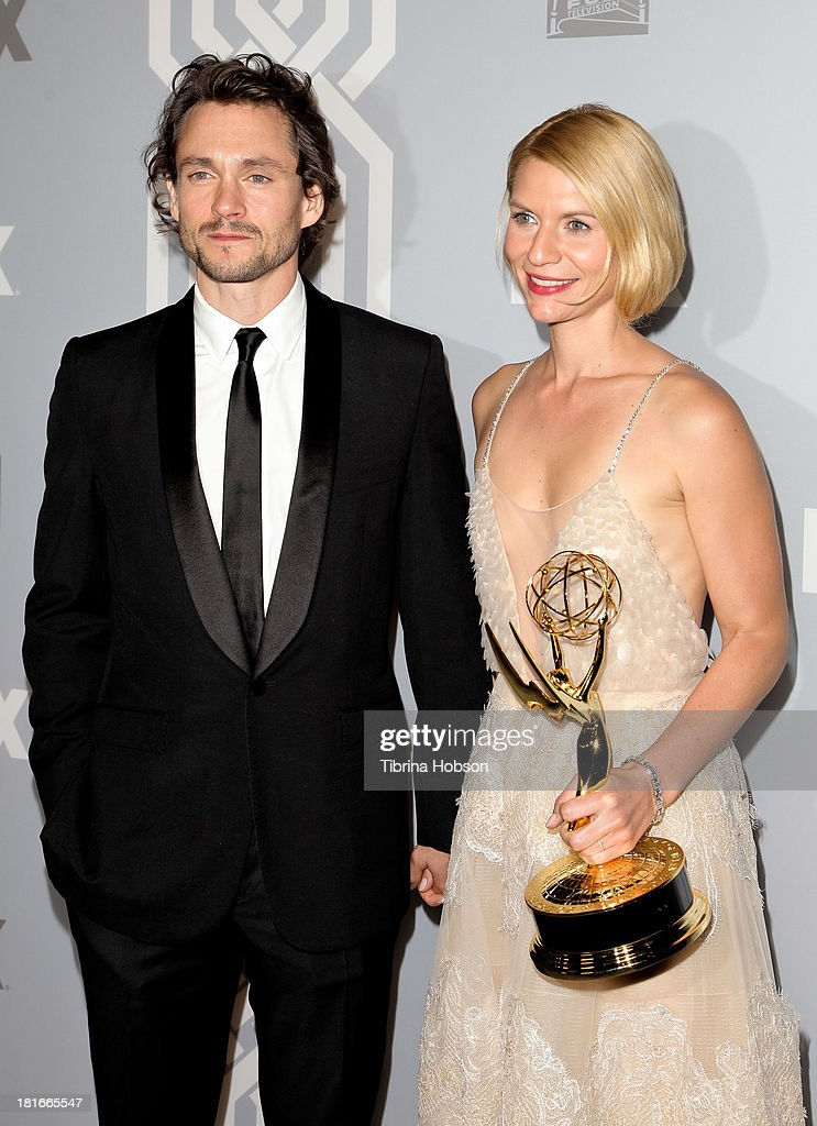 Hugh Dancy and Claire Danes attend the Twentieth Century FOX Television and FX Emmy Party at Soleto on September 22, 2013 in Los Angeles, California.