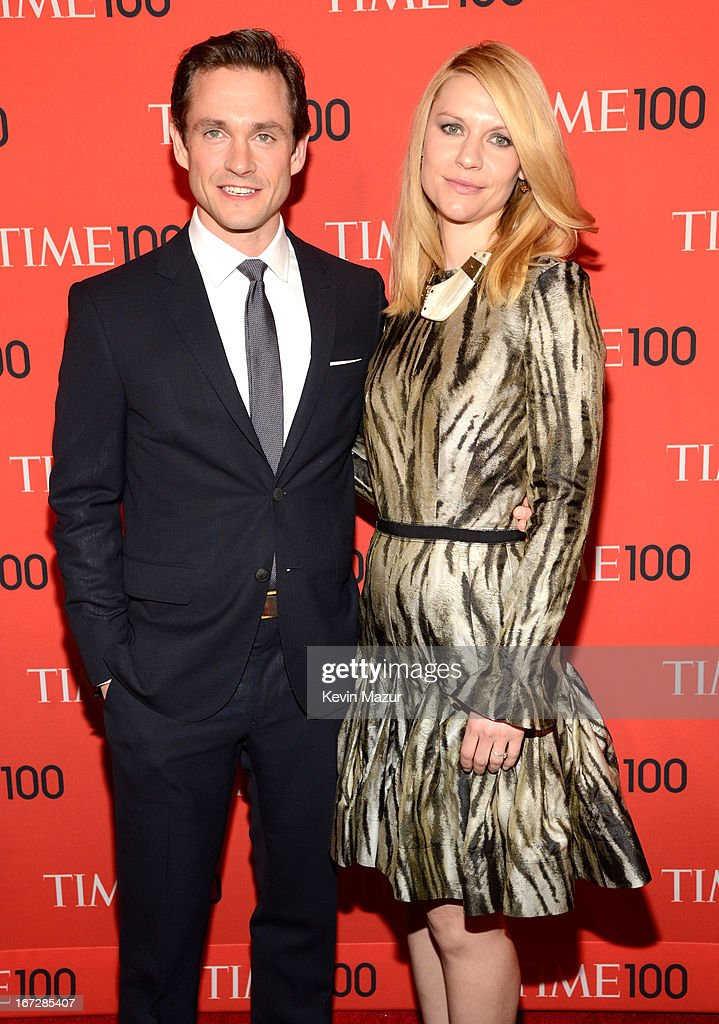 Hugh Dancy and Claire Danes attend TIME 100 Gala, TIME'S 100 Most Influential People In The World at Jazz at Lincoln Center on April 23, 2013 in New York City.