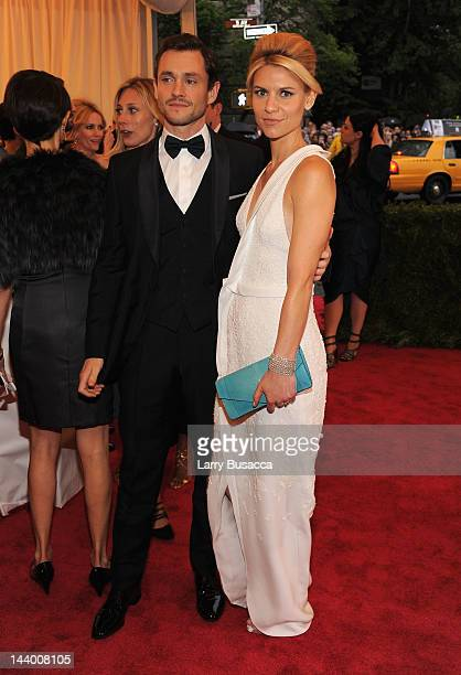 Hugh Dancy and Claire Daness attend the Schiaparelli And Prada Impossible Conversations Costume Institute Gala at the Metropolitan Museum of Art on...