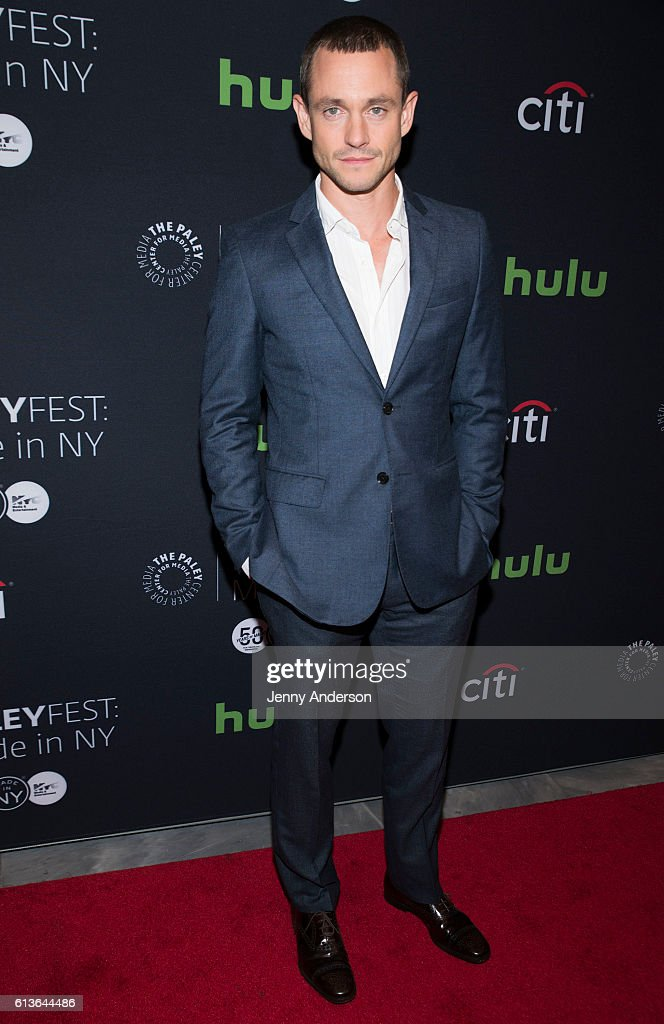Hugh Dancy attends PaleyFest New York 2016 to discuss his TV show 'The Path' at The Paley Center for Media on October 9, 2016 in New York City.