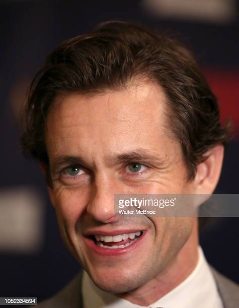 Hugh Dancy attends the Broadway Opening Night Celebration for the Roundabout Theatre Company production of 'Apologia' on October 16 2018 at the Laura...