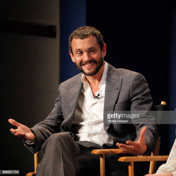 Hugh Dancy attends the Paley Center for Media's presentation of Hulu's 'The Path' Season 3 premiere QA at The Paley Center for Media on December 21...
