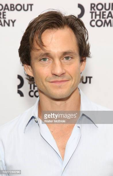 Hugh Dancy attends the photo call for the Roundabout Theatre Company Production of 'Apologia' on September 5 2018 at the Roundabout Rehearsal Studios...