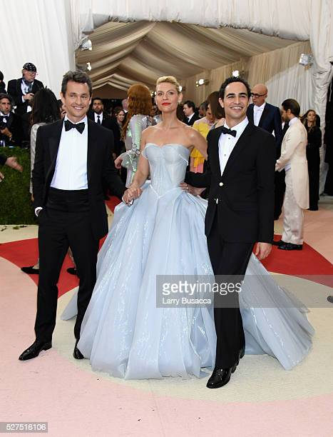 "Hugh Dancy, Claire Danes, and Zac Posen attend the ""Manus x Machina: Fashion In An Age Of Technology"" Costume Institute Gala at Metropolitan Museum..."