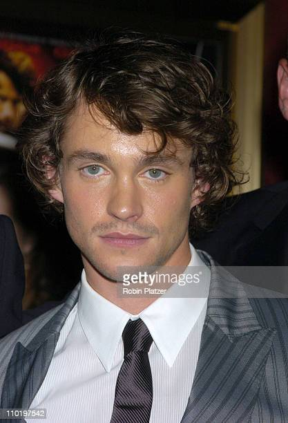 Hugh Dancy during King Arthur World Premiere Inside Arrivals at The Ziegfeld Theatre in New York City New York United States
