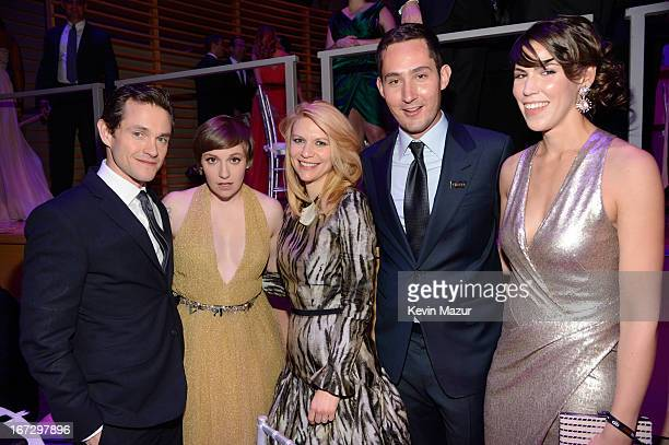Hugh Dancy Lena Dunham Claire Danes Kevin Systrom and Guest attend TIME 100 Gala TIME'S 100 Most Influential People In The World at Jazz at Lincoln...