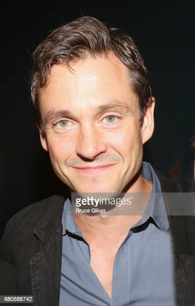 Hugh Dancy poses at An American Daughter Benefit Reading at The Tony Kiser Second Stage Theatre on May 8 2017 in New York City