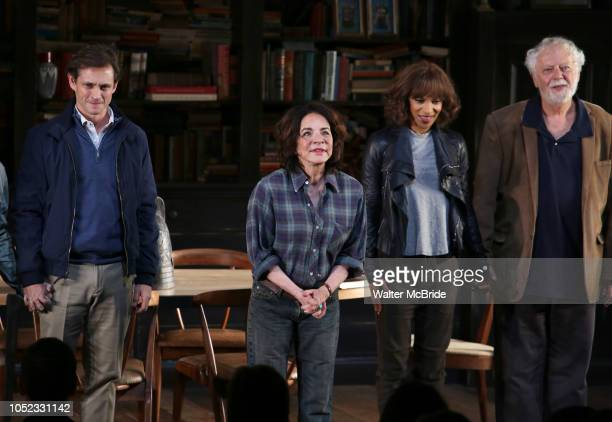 Hugh Dancy Stockard Channing Megalyn Echikunwoke and John Tillinger during the Opening Night Curtain Call Bows for the Roundabout Theatre Company...