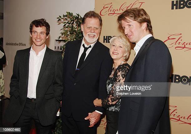 Hugh Dancy Taylor Hackford Helen Mirren and Tom Hooper Director