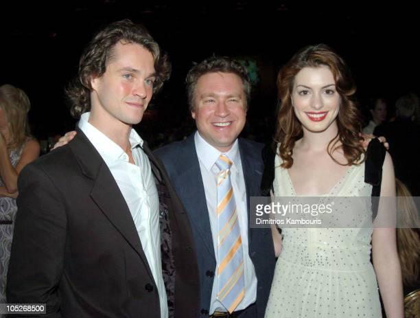 Hugh Dancy Tommy O'Haver director of 'Ella Enchanted' and Anne Hathaway