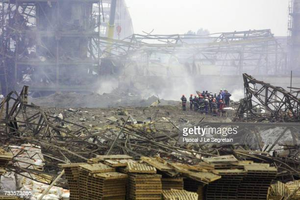 Hugh explosion, reported as accidential, took place last Friday in the AZF chemical plant in the south-west suburbs of Toulouse. Firemen on the site...