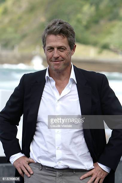 Hugh Grant actor in the movie Florence Foster Jenkins on photo call at the 64th International Film Festival of San Sebastian on October 6, 2016 in...
