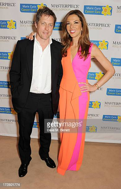 Hugh Grant and Heather Kerzner attend The Masterpiece Midsummer Party in aid of Marie Curie Cancer Care hosted by Heather Kerzner at The Royal...