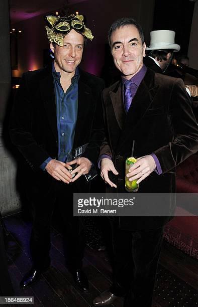 Hugh Grant and James Nesbitt attend the UNICEF UK Halloween Ball hosted by Jemima Khan raising vital funds for UNICEF's work for children affected by...
