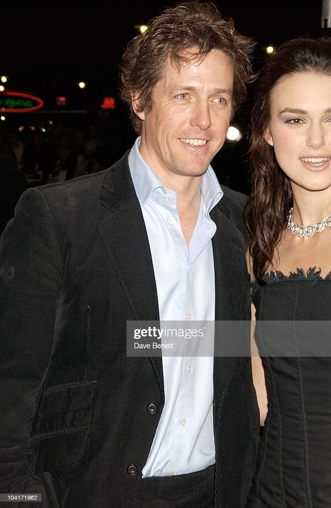 Hugh Grant And Keira Knightley, Love Actually Movie Premiere At The Odeon Leicester Square, London