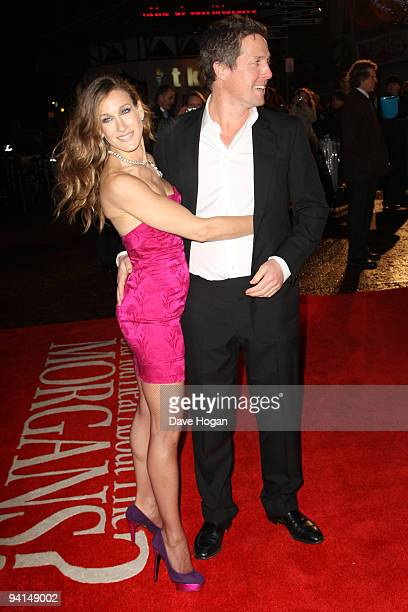 Hugh Grant and Sarah Jessica PArker attend the gala premiere of Did You Hear About The Morgans held at the Odeon Leicester Square on December 8 2009...