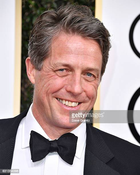 Hugh Grant arrives at the 74th Annual Golden Globe Awards at The Beverly Hilton Hotel on January 8 2017 in Beverly Hills California