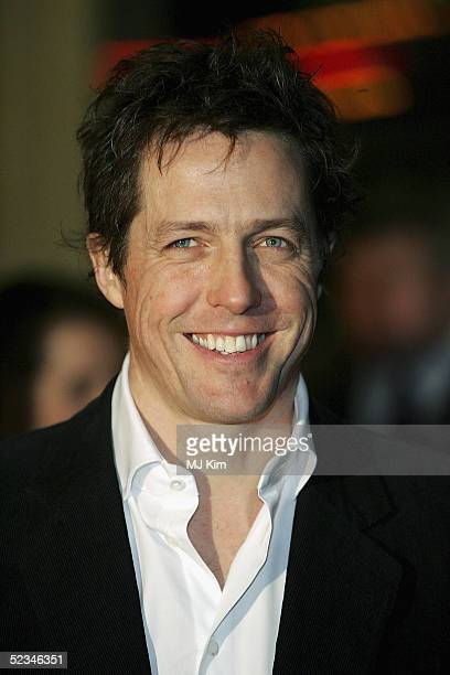 Hugh Grant arrives at the UK Premiere for Miss Congeniality 2 the sequel to Miss Congeniality at Vue Leicester Square on March 9 2005 in London
