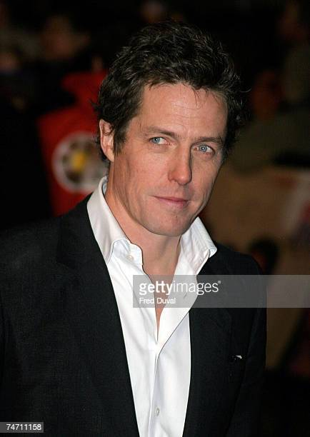 Hugh Grant at the Bridget Jones the Edge of Reason Premiere Arrivals at Odeon Leicester Square in London