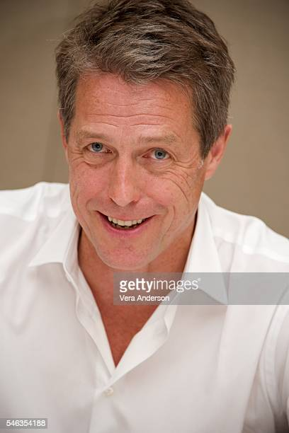 Hugh Grant at the Florence Foster Jenkins Press Conference at the Conrad Hotel on July 11 2016 in New York City
