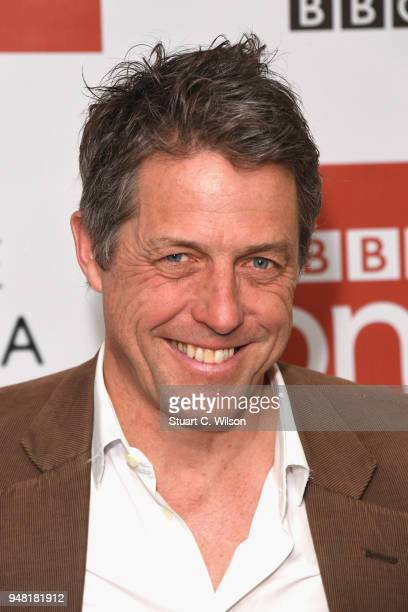 Hugh Grant attends a photocall for the BBC's 'A Very English Scandal' at BAFTA on April 18 2018 in London England