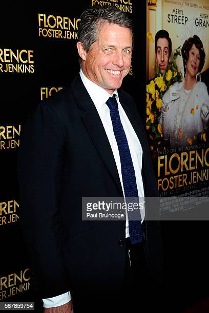 Hugh Grant attends Paramount Pictures Presents the New York Premiere of Florence Foster Jenkins at AMC Loews Lincoln Square 13 theater on August 9...