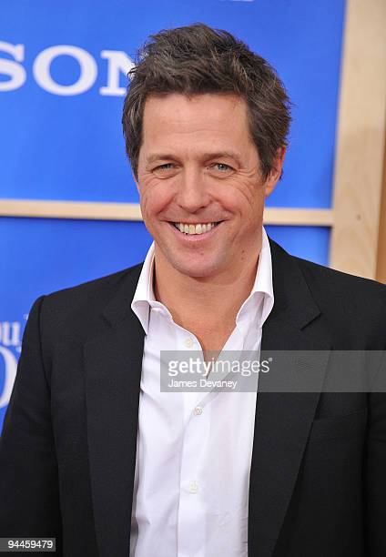 Hugh Grant attends the 'Did You Hear About the Morgans' New York premiere at Ziegfeld Theatre on December 14 2009 in New York City