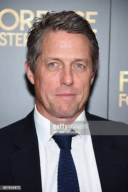Hugh Grant attends the 'Florence Foster Jenkins' New York premiere at AMC Loews Lincoln Square 13 theater on August 9 2016 in New York City