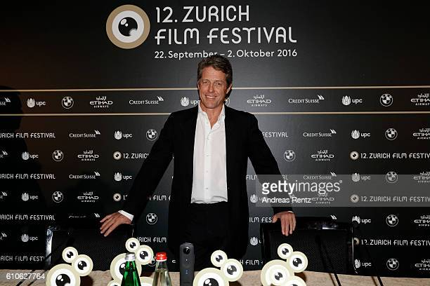 Hugh Grant attends the 'Florence Foster Jenkins' press conference during the 12th Zurich Film Festival on September 27 2016 in Zurich Switzerland The...