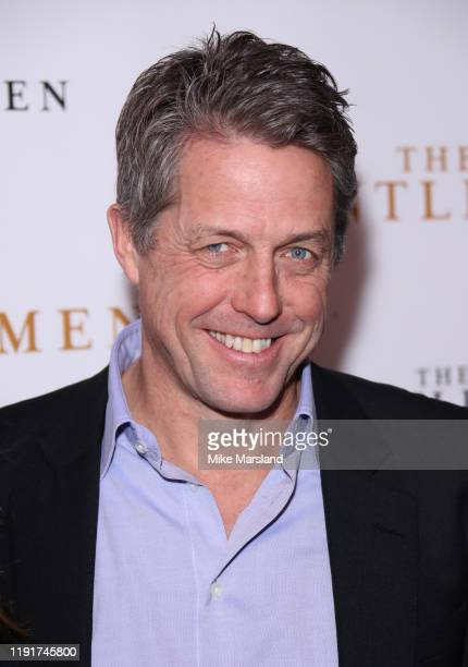 Hugh Grant attends The Gentleman Special Screening at The Curzon Mayfair on December 03 2019 in London England