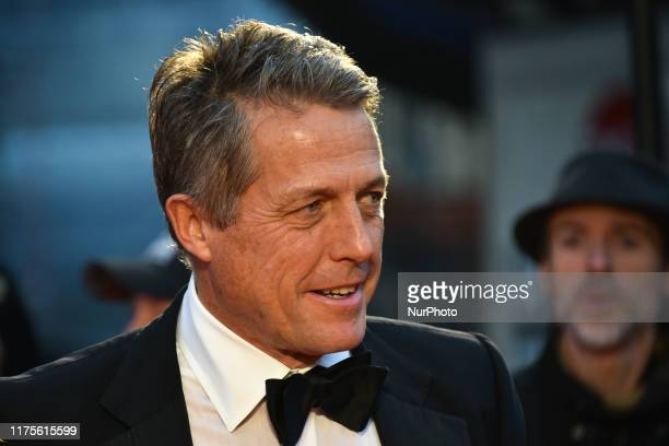 Hugh Grant attends The Irishman International Premiere and Closing Gala during the 63rd BFI London Film Festival at the Odeon Luxe Leicester Square...