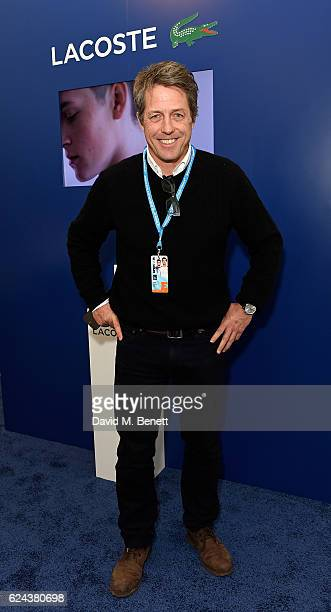 Hugh Grant attends the Lacoste VIP Lounge at ATP World Finals 2016 on November 18 2016 in London England