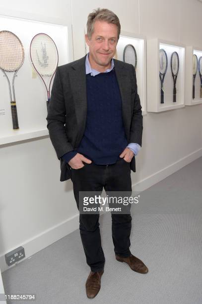 Hugh Grant attends the Lacoste VIP Lounge at the 2019 ATP World Tour Tennis Finals on November 17 2019 in London England