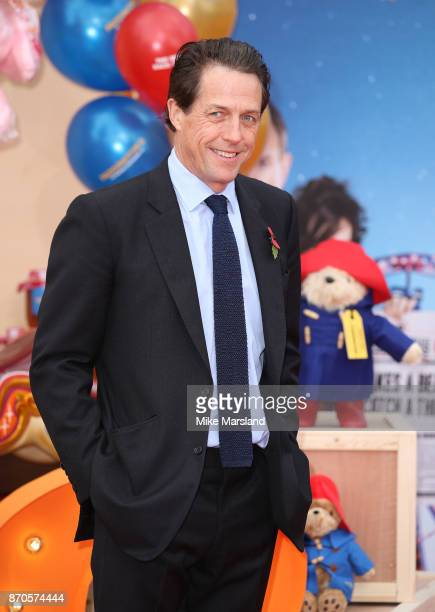 Hugh Grant attends the 'Paddington 2' premeire at BFI Southbank on November 5 2017 in London England