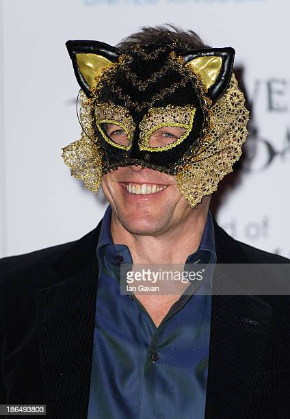 Hugh Grant attends The UNICEF Halloween Ball at One Mayfair on October 31 2013 in London England