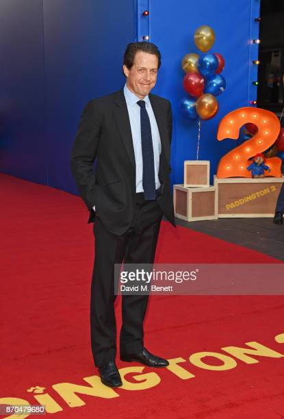 Hugh Grant attends the World Premiere of Paddington 2 at the BFI Southbank on November 5 2017 in London England