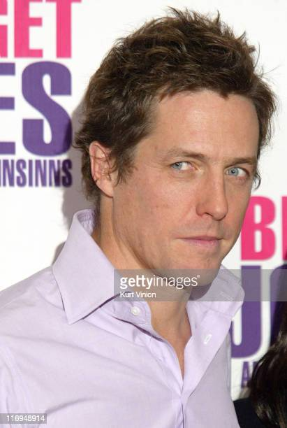 Hugh Grant during Bridget Jones The Edge of Reason Berlin Photocall at Hotel Adlon in Berlin Germany