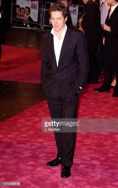 Hugh Grant during Bridget Jones The Edge of Reason London Premiere Outside Arrivals at Odeon Leicester Square in London Great Britain