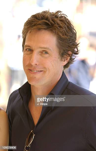 Hugh Grant during Cannes 2002 'Two Weeks Notice' Photo Call in Cannes France