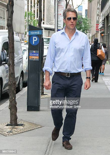 Hugh Grant is seen on June 27 2018 in New York City