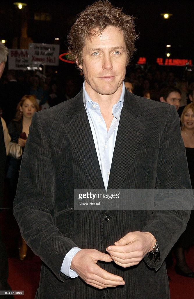 Hugh Grant, Love Actually Movie Premiere At The Odeon Leicester Square, London